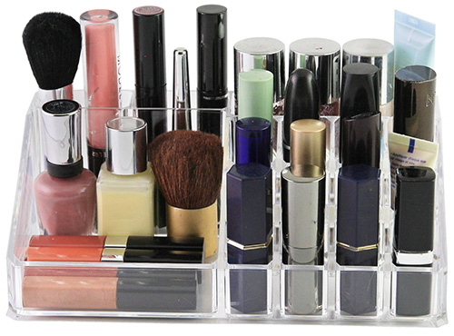 The Sympler storage organiser is great for make up, brushes, cosmetics to keep them neat and tidy
