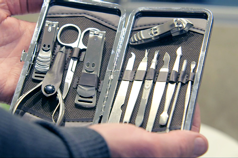 12 piece set has a nail tool for all your beauty and health needs